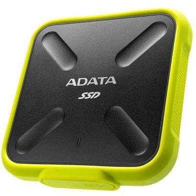 Внешний жесткий диск A-Data ASD700-512GU3-CYL 512Gb (ASD700-512GU3-CYL)Внешние жесткие диски A-Data<br>ADATA 512GB SD700 USB3.0 External SSD Yellow<br>