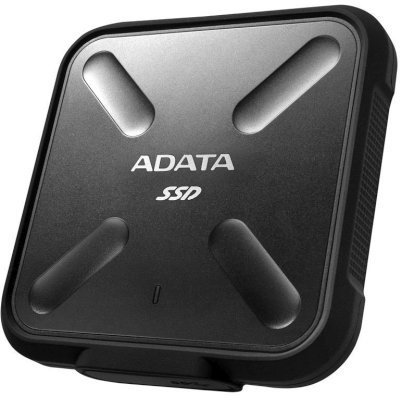 Внешний жесткий диск A-Data ASD700-512GU3-CBK 512Gb (ASD700-512GU3-CBK)Внешние жесткие диски A-Data<br>ADATA 512GB SD700 USB3.0 External SSD Black<br>