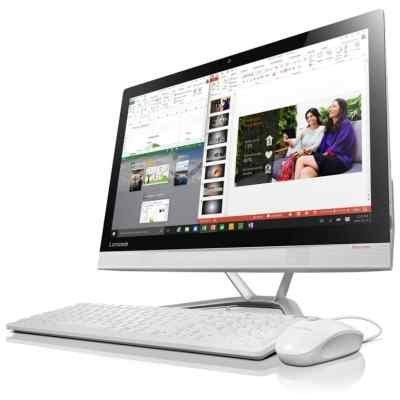 Моноблок Lenovo IdeaCentre 300-23ISU (F0BY00CYRK) (F0BY00CYRK)Моноблоки Lenovo<br>Lenovo IdeaCentre AIO 300-23ISU Monitor stand  23(1920x1080 IPS)/Intel Pentium 4405U(2.1Ghz)/4096Mb/1000Gb/DVDrw/Int:Intel HD Graphics 510/BT/WiFi/war Клавиатура+мышь/ 1/1 carry-iny/white/DOS<br>