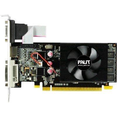 Видеокарта ПК Palit NVIDIA GeForce GT 610, 1Gb GDDR3/64-bit, PCI-Ex16 3.0, DVI, HDMI, VGA, 1-slot cooler, Retail (NEAT6100HD06-1196F)Видеокарты ПК Palit<br>VGA PALIT NVIDIA GeForce GT 610, 1Gb GDDR3/64-bit, PCI-Ex16 3.0,  DVI, HDMI, VGA, 1-slot cooler, Retail<br>