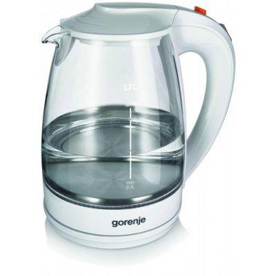 Электрический чайник Gorenje K17GWII белый (K17GWII)
