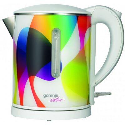 Электрический чайник Gorenje K15KARIM белый/рисунок (K15KARIM)