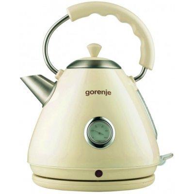 Электрический чайник Gorenje K17CLI бежевый (K17CLI) электрический чайник gorenje k17cli бежевый k17cli