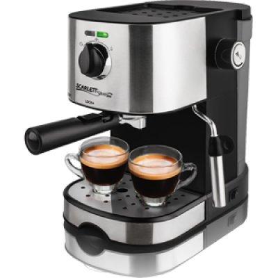 Кофеварка Scarlett SL-CM53001 черный/серебристый (SL - CM53001)Кофеварки Scarlett<br>Кофеварка капельная Scarlett SL-CM53001 850Вт черный/серебристый<br>
