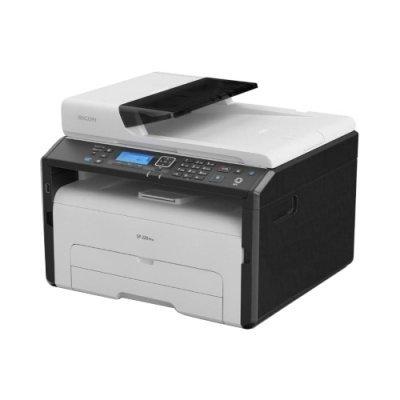 Монохромный лазерный МФУ Ricoh SP 277SNwX (408158)Монохромные лазерные МФУ Ricoh<br>МФУ (принтер, сканер, копир)<br>для небольшого офиса<br>ч/б лазерная печать<br>до 23 стр/мин<br>макс. формат печати A4 (210 x 297 мм)<br>ЖК-панель<br>автоподача оригиналов при сканировании<br>Wi-Fi, Ethernet<br>