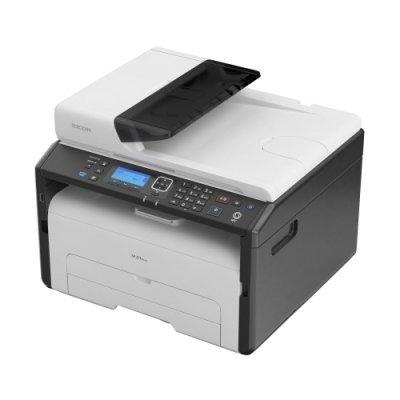 Монохромный лазерный МФУ Ricoh SP277SFNwX (408159)Монохромные лазерные МФУ Ricoh<br>МФУ (принтер, сканер, копир, факс)<br>для небольшого офиса<br>ч/б лазерная печать<br>до 23 стр/мин<br>макс. формат печати A4 (210 x 297 мм)<br>ЖК-панель<br>автоподача оригиналов при сканировании<br>Wi-Fi, Ethernet<br>