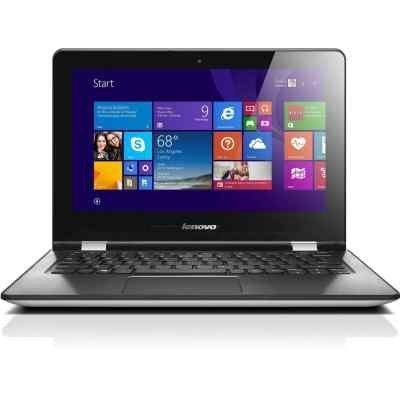 Ультрабук-трансформер Lenovo IdeaPad Yoga 300-11IBR (80M100R1RK) (80M100R1RK)Ультрабуки-трансформеры Lenovo<br>Ноутбук Lenovo IdeaPad Yoga 300-11IBR Celeron N3060/2Gb/SSD32Gb/Intel HD Graphics/11.6/Touch/HD (1366x768)/Windows 10/white/WiFi/BT/Cam/2200mAh<br>