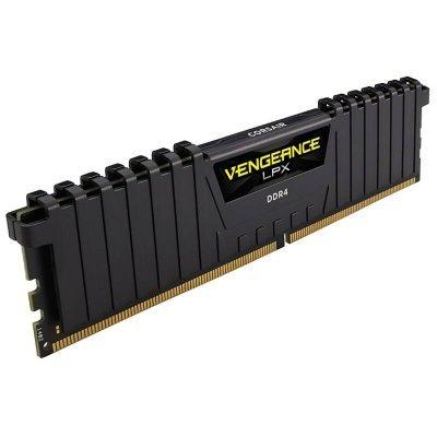 Модуль оперативной памяти ПК Corsair CMK16GX4M1A2400C16 16Gb DDR4 (CMK16GX4M1A2400C16)Модули оперативной памяти ПК Corsair<br>Память DDR4 16Gb 2400MHz Corsair CMK16GX4M1A2400C16 RTL PC4-19200 CL16 DIMM 288-pin 1.2В<br>