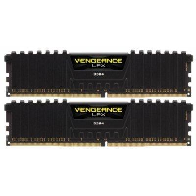 Модуль оперативной памяти ПК Corsair CMK32GX4M2A2800C16 32GB DDR4 (CMK32GX4M2A2800C16)Модули оперативной памяти ПК Corsair<br>2 модуля памяти DDR4<br>объем модуля 16 Гб<br>форм-фактор DIMM, 288-контактный<br>частота 2800 МГц<br>радиатор<br>CAS Latency (CL): 16<br>
