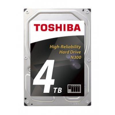 Жесткий диск серверный Toshiba HDWQ140UZSVA 4Tb (HDWQ140UZSVA) внешний жесткий диск lacie stet2000400 porsche design 2tb серебристый stet2000400