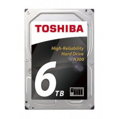 Жесткий диск серверный Toshiba HDWN160UZSVA 6Tb (HDWN160UZSVA) внешний жесткий диск lacie stet2000400 porsche design 2tb серебристый stet2000400