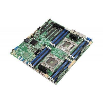 Материнская плата сервера Intel DBS2600CWTR 943805 (DBS2600CWTR 943805)Материнские плата серверов Intel<br>Материнская Плата Intel DBS2600CWTR Soc-2011 iC612 SSI EEB 16xDDR4 10xSATA3 SATA RAID iX540 2х10GgbEth bulk<br>
