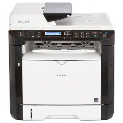 Монохромный лазерный МФУ Ricoh SP 377SFNwX (408156)Монохромные лазерные МФУ Ricoh<br>МФУ (принтер, сканер, копир, факс)<br>для небольшого офиса<br>ч/б лазерная печать<br>до 28 стр/мин<br>макс. формат печати A4 (210 x 297 мм)<br>ЖК-панель<br>двусторонняя печать<br>автоподача оригиналов при сканировании<br>Wi-Fi, Ethernet<br>
