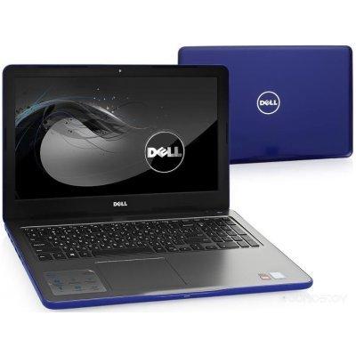 Ноутбук Dell Inspiron 5567 (5567-3553) (5567-3553)Ноутбуки Dell<br>Dell Inspiron 5567 i5-7200U 8Gb 1Tb AMD Radeon R7 M445 2Gb 15,6 HD DVD(DL) BT Cam 2620мАч Win10 Синий 5567-3553<br>