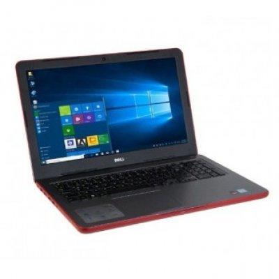 Ноутбук Dell Inspiron 5567 (5567-9876) (5567-9876)Ноутбуки Dell<br>Dell Inspiron 5567 i5-7200U 8Gb 1Tb AMD Radeon R7 M445 2Gb 15,6 HD DVD(DL) BT Cam 2620мАч Win10 Красный 5567-9876<br>