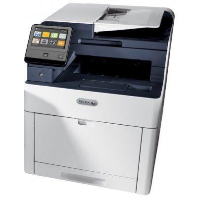 Цветной лазерный МФУ Xerox WorkCentre 6515DNI (6515V_DNI)Цветные лазерные МФУ Xerox<br>МФУ (принтер, сканер, копир, факс)<br>для среднего офиса<br>4-цветная светодиодная печать<br>до 28 стр/мин<br>макс. формат печати A4 (210 x 297 мм)<br>макс. размер отпечатка: 216 x 356 мм<br>цветной ЖК-дисплей<br>двусторонняя печать<br>автоподача оригиналов при сканировании<br>Wi-Fi, Ethernet<br>