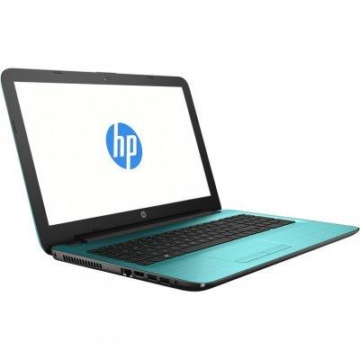Ноутбук HP 15-ba049ur (X5C27EA) (X5C27EA)Ноутбуки HP<br>HP 15 A6-7310 4Gb 1Tb AMD Radeon R5 M430 2Gb 15,6 FHD BT Cam 2620мАч Win10 Бирюзовый 15-ba049ur X5C27EA<br>