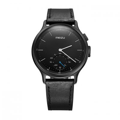 Умные часы Meizu Mix R20 Leather Black (MZU-MZWA1S-L-BK) раннее развитие айрис пресс занимательные задачи и головоломки для детей 4 7 лет