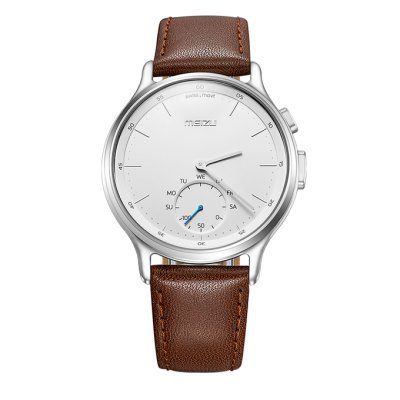 Умные часы Meizu Mix R20 Leather Silver (MZU-MZWA1S-L-SL) смарт часы meizu mzwa1s черный