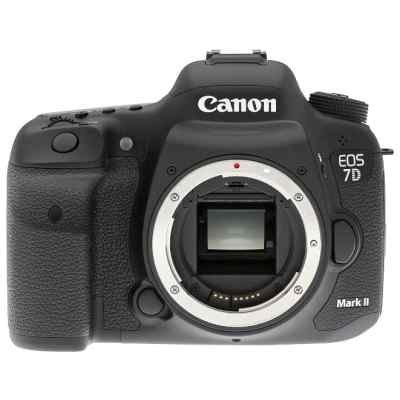 Цифровая фотокамера Canon EOS 7D Mark II Body + Wi-fi adapter (9128B128) фотоаппарат canon eos 7d mark ii body w e1