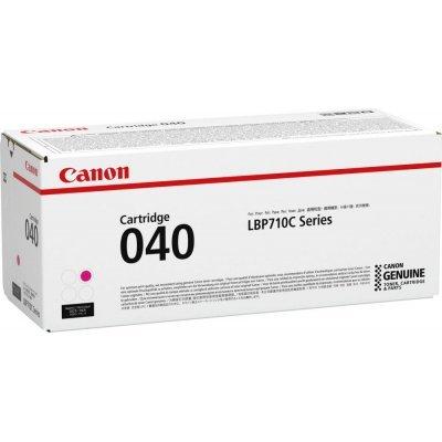 Тонер-картридж для лазерных аппаратов Canon 040 M для принтеров i-SENSYS LBP712Cx, LBP710Cx. Пурпурный. 5400 страниц (0456C001) тонер картридж для лазерных аппаратов canon 041h для i sensys lbp312x чёрный 0453c002