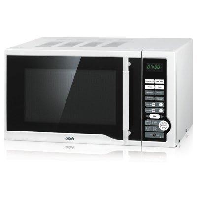 Микроволновая печь BBK 20MWS-770M/W белый (20MWS-770S/W) bbk 20mws 712m wb белый черный