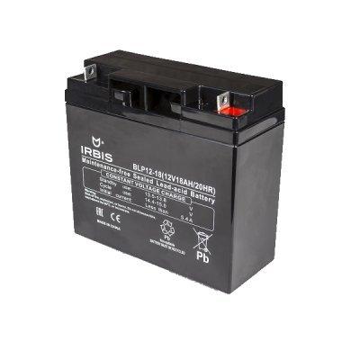 Аккумуляторная батарея для ИБП Irbis BLP12-18 (BLP12-18), арт: 262107 -  Аккумуляторные батареи для ИБП Irbis