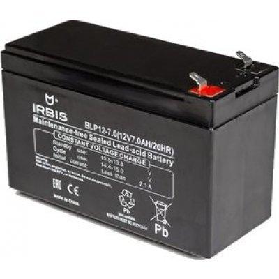 Аккумуляторная батарея для ИБП Irbis BLP12-7.0 (BLP12-7.0), арт: 262111 -  Аккумуляторные батареи для ИБП Irbis