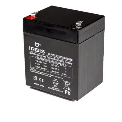 Аккумуляторная батарея для ИБП Irbis BLP12-5.0 (BLP12-5.0), арт: 262112 -  Аккумуляторные батареи для ИБП Irbis