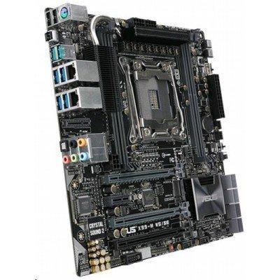 Материнская плата сервера ASUS X99-MWS (X99-MWS)Материнские плата серверов ASUS<br>Серверная материнская плата X99 S2011-3 MATX X99-M WS ASUS<br>