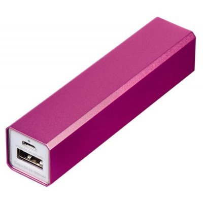 Внешний аккумулятор для портативных устройств Hama Candy Bar 2600mAh розовый (124405)Внешние аккумуляторы для портативных устройств Hama<br>Мобильный аккумулятор Hama Candy Bar Li-Ion 2600mAh 1A розовый 1xUSB<br>