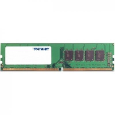 Модуль оперативной памяти ПК Patriot PSD48G213382 (PSD48G213382)Модули оперативной памяти ПК Patriot<br>Память DDR4 8Gb (pc-17000) 2133MHz Patriot PSD48G213382<br>