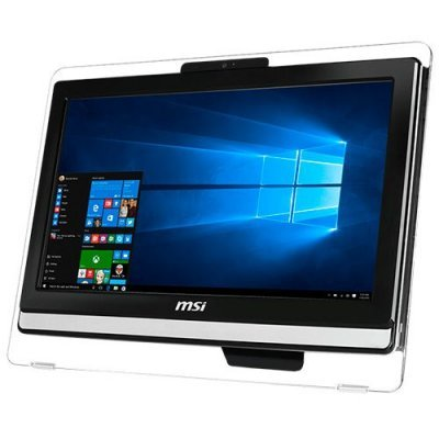 Моноблок MSI Pro 20ET 4BW-066RU (9S6-AA8B11-066) (9S6-AA8B11-066)Моноблоки MSI<br>Моноблок MSI Pro 20ET 4BW-066RU 19.5 HD+ Touch Cel N3150 (1.6)/4Gb/1Tb 7.2k/HDG/DVDRW/Free DOS/GbitEth/WiFi/BT/65W/клавиатура/мышь/Cam/черный 1600x900<br>