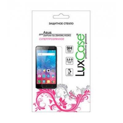 Пленка защитная для смартфонов LuxCase для Asus ZenFone Go ZB450KL/ZB452KG (Защитное стекло) (82050) аксессуар защитная пленка asus zenfone 3 ze552kl luxcase front