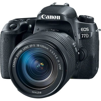 Цифровая фотокамера Canon EOS 77D Kit (1892C004) canon eos 77d body