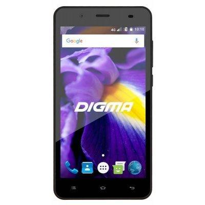Смартфон Digma VOX S506 4G 8Gb (VS5020PL black) смартфон digma voxg450 black
