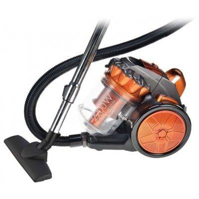 Пылесос Endever VC-570 серый/оранжевый (80329)Пылесосы Endever<br>пылесос<br>сухая уборка<br>без мешка (с циклонным фильтром)<br>пылесборник на 4 л<br>мощность всасывания 400 Вт<br>работа от сети<br>потребляемая мощность 2200 Вт<br>