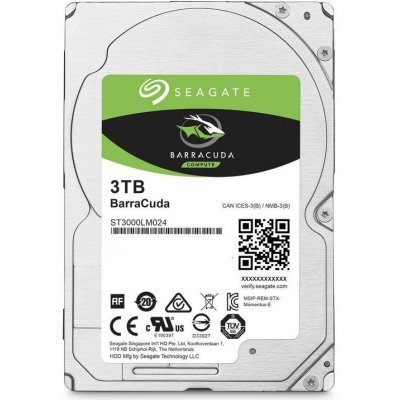 Жесткий диск ПК Seagate ST3000LM024 3Tb (ST3000LM024), арт: 262633 -  Жесткие диски ПК Seagate