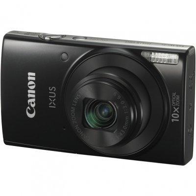 Цифровая фотокамера Canon IXUS 190 черный (1794C001)Цифровые фотокамеры Canon<br>IXUS 190 черный, 20Mpx CCD, zoom 20x, оптическая стаб., 1280x720/25p, экран 2.7&amp;amp;#039;&amp;amp;#039;, Li-ion<br>