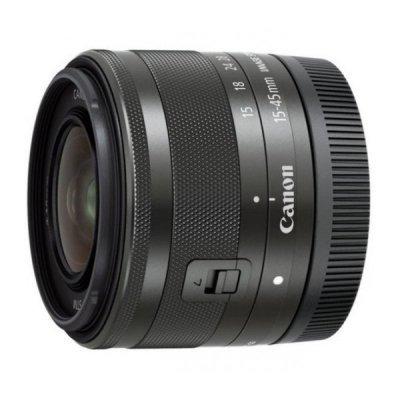 Объектив для фотоаппарата Canon EF-M STM (0572C005) 15-45mm f/3.5-6.3 черный (0572C005)