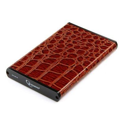 Корпус для жесткого диска Gembird EE2-U2S-70L-BR коричневый (EE2-U2S-70L-BR) цена и фото