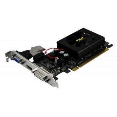 Видеокарта ПК Palit GT 610 2GB GDDR3 PA-GT610-2GD3 BULK (NEAT6100HD46-1196FBULK)Видеокарты ПК Palit<br>Видеокарта PCIE16 GT610 2GB GDDR3 PA-GT610-2GD3 BULK PALIT<br>
