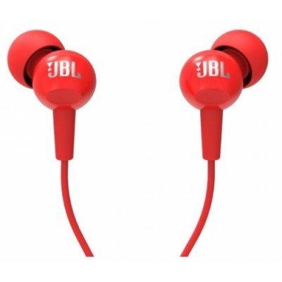 Наушники JBL C100SI красный (JBLC100SIURED) наушники беспроводные jbl synchros e40bt с микрофоном e40btred