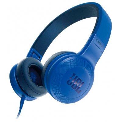 Наушники JBL E35 синий (JBLE35BLU) jbl e45bt накладные bluetooth наушники с микрофоном teal