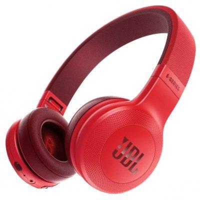 Bluetooth-гарнитура JBL E45BT красный (JBLE45BTRED) bluetooth гарнитура jbl v100 black