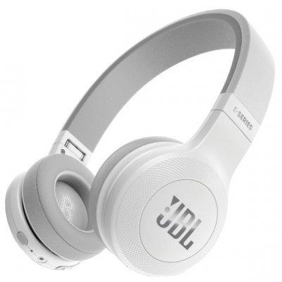 Bluetooth-гарнитура JBL E45BT белый (JBLE45BTWHT) bluetooth гарнитура jbl v100 black