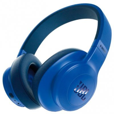 Bluetooth-гарнитура JBL E55BT синий (JBLE55BTBLU) наушники bluetooth jbl e55bt teal jble55bttel