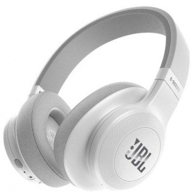 Bluetooth-гарнитура JBL E55BT белый (JBLE55BTWHT) наушники bluetooth jbl e55bt blue jble55btblu