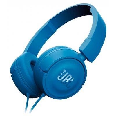 Наушники JBL T450 синий (JBLT450BLU) гарнитура jbl t450 белый