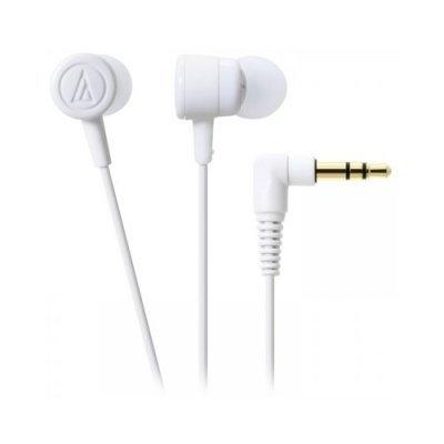 цена на Наушники Audio-Technica ATH-CKL220 белый (15118455)